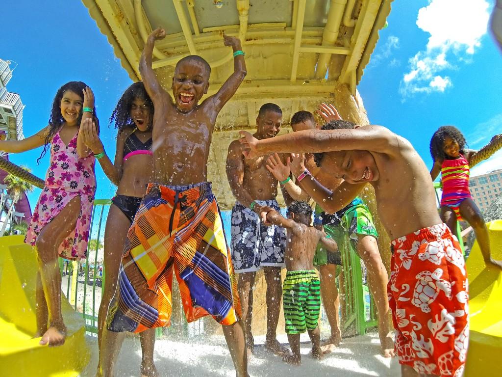 Madame Mariposa: Summertime Fun at Schlitterbahn Galveston Island