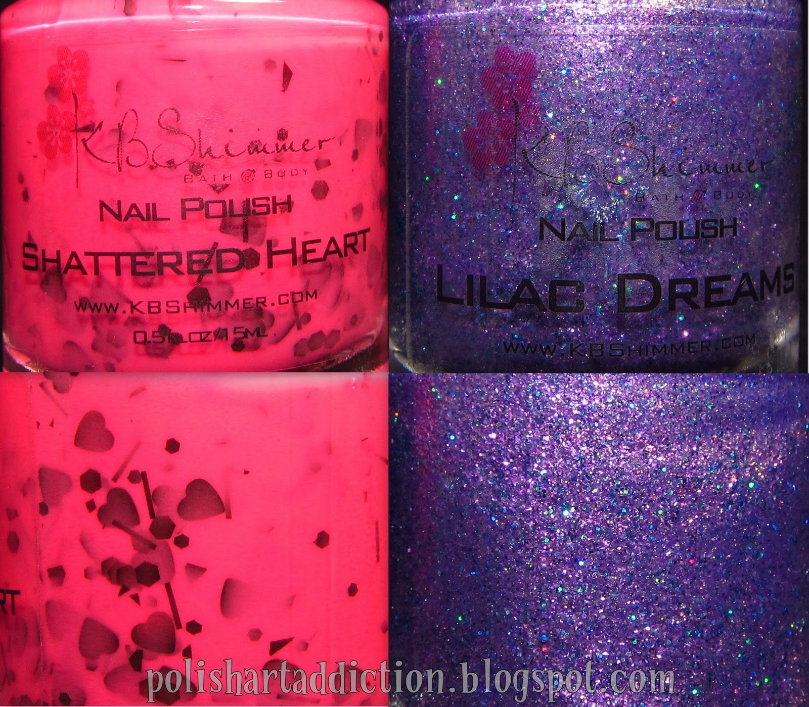KBShimmer - Shattered Heart & Lilac Dreams