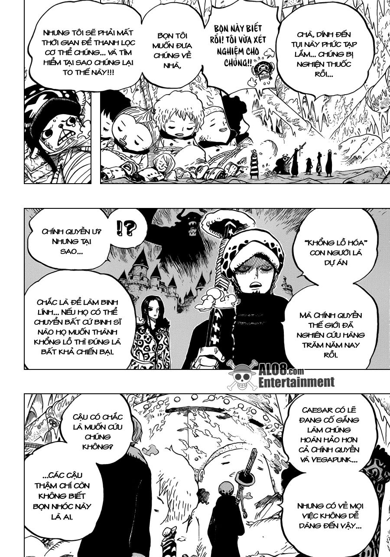 One Piece Chapter 668: Liên minh Hải tặc 008