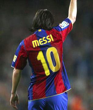 messi barcelona 10