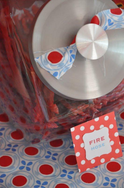 The Little Nook Sound The Alarm Firetruck Birthday