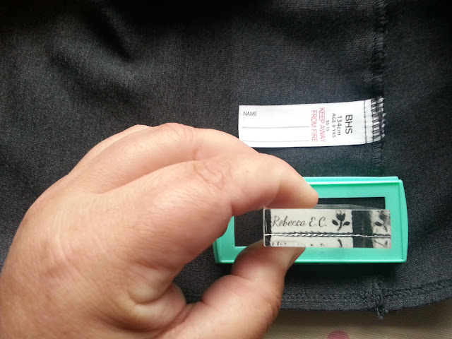 Stamptastic Labelling School Uniform