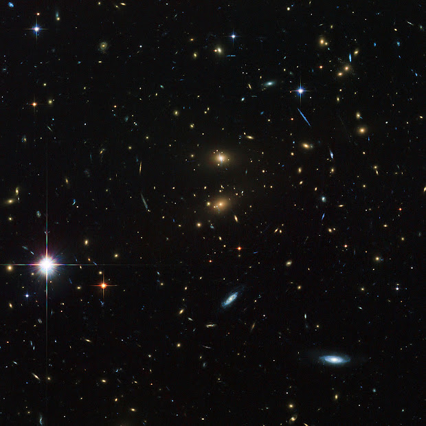 Hubble ACS/WFC Deep Image of Galaxy Cluster LCDCS-0829