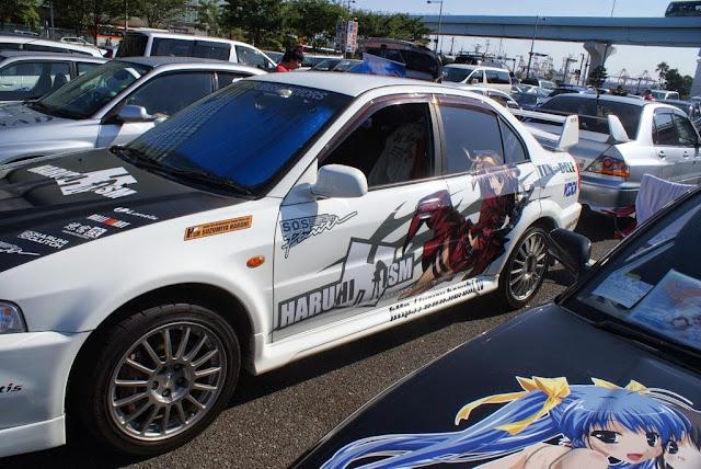 Japońskie samochody w tematyce anime, nazywane Itasha
