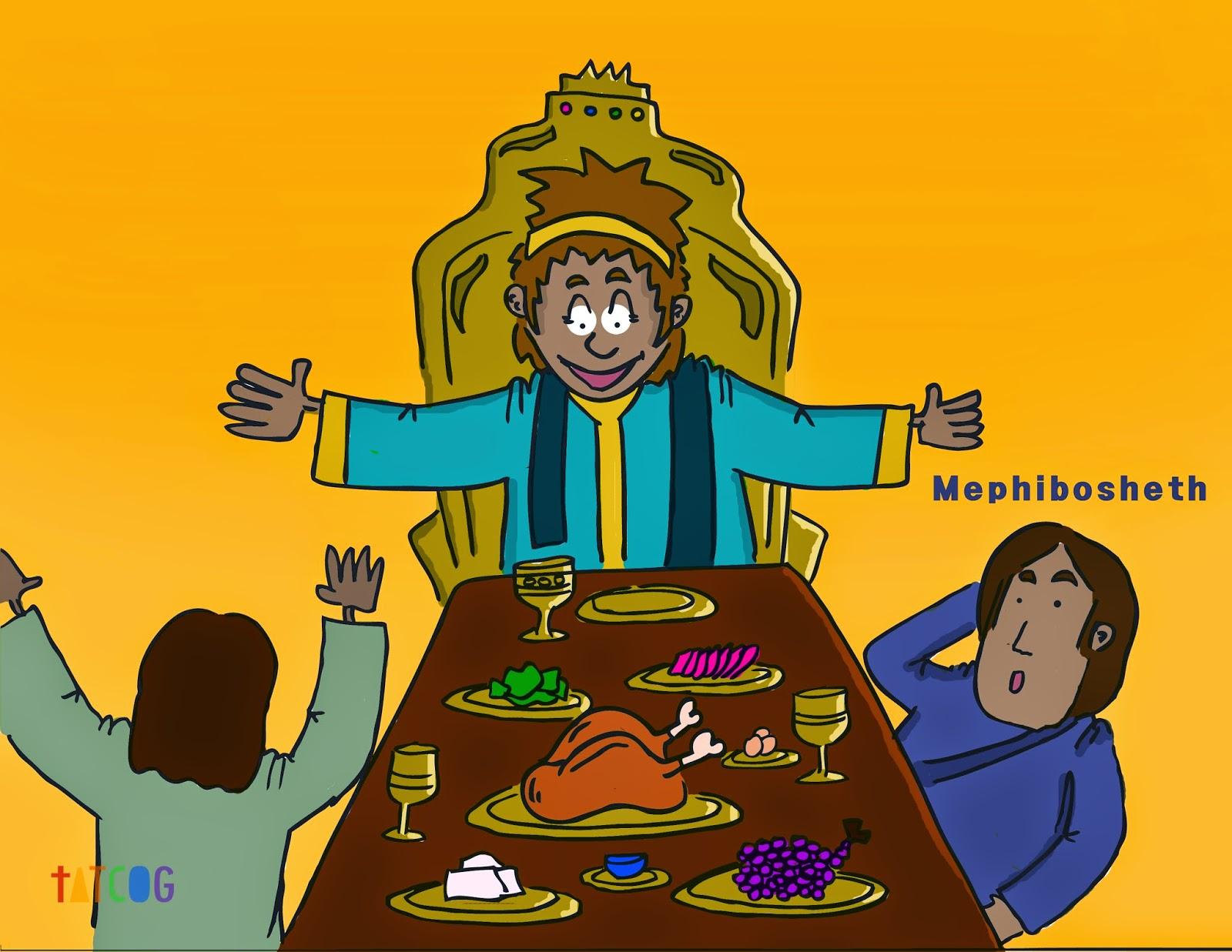 60 David Is Kind To Mephibosheth