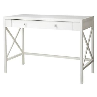 Simple Details: deal alerttarget white desk