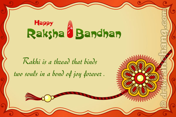 Happy Rakhi Greetings, Best Raksha Bandhan Greeting Cards 2015