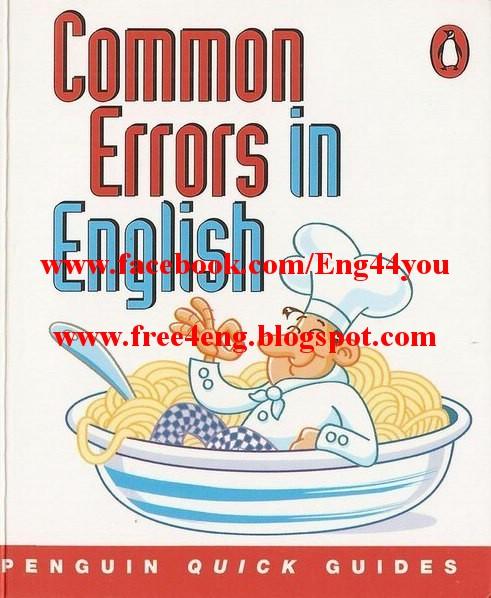 common pronunciation errors in english pdf
