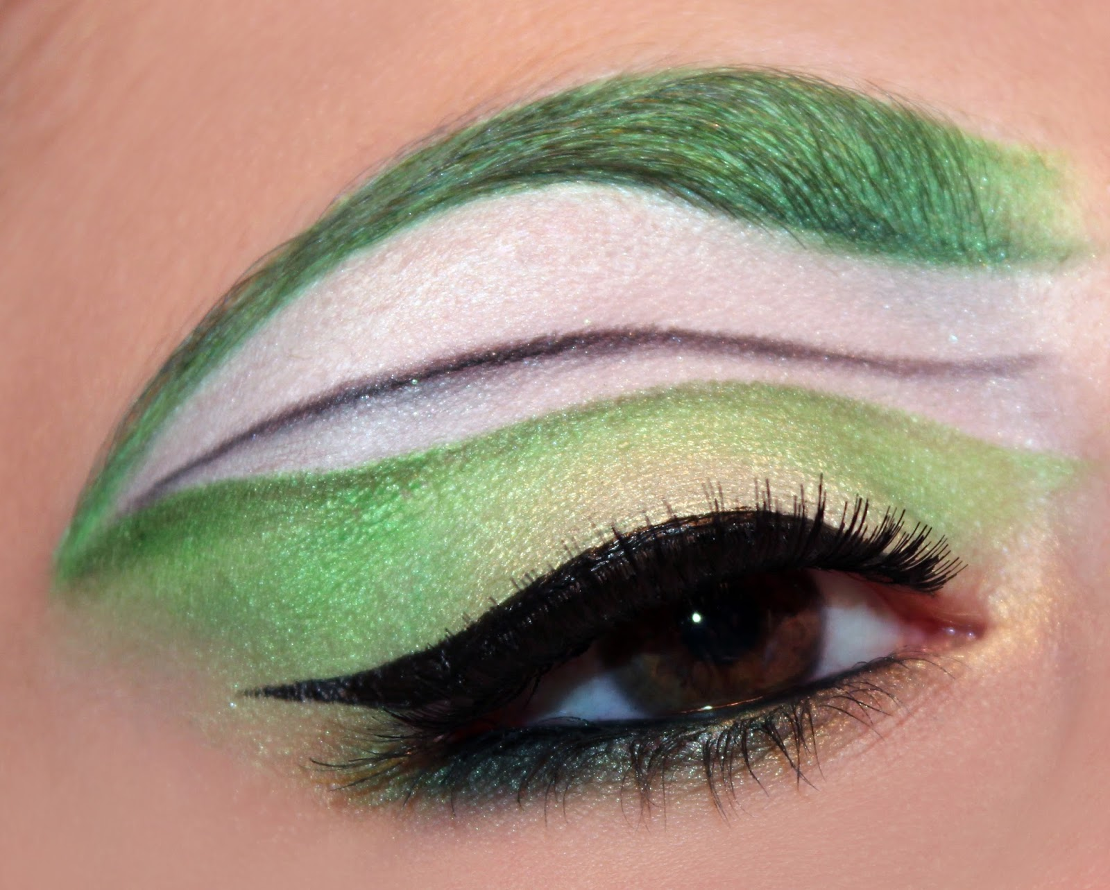 Luhivy S Favorite Things Pokemon Series Scyther Inspired Makeup Look