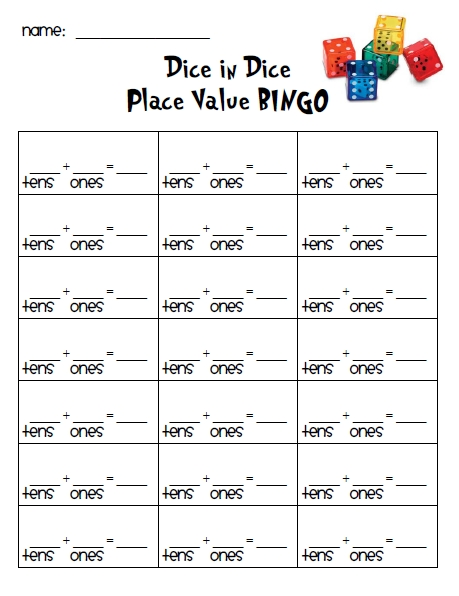 First grade place value sheets | yachtarabella.com