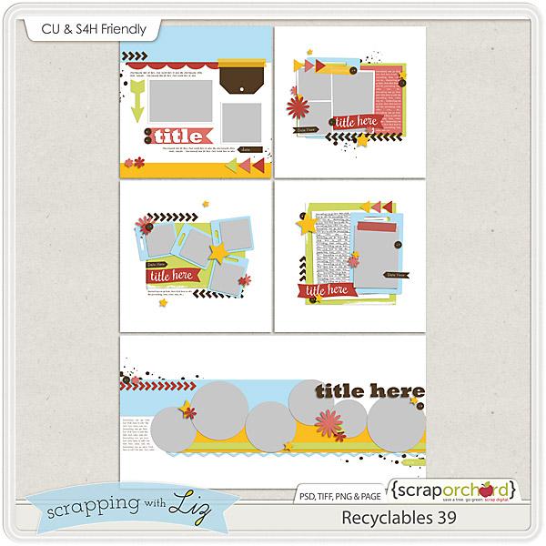http://scraporchard.com/market/Recyclables-39-Digital-Scrapbook-Templates.html
