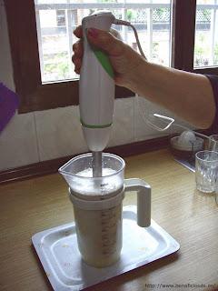 Preparación del Mousse de Limón