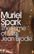 The Prime of Miss Jean Brodie by Muriel Spark book cover