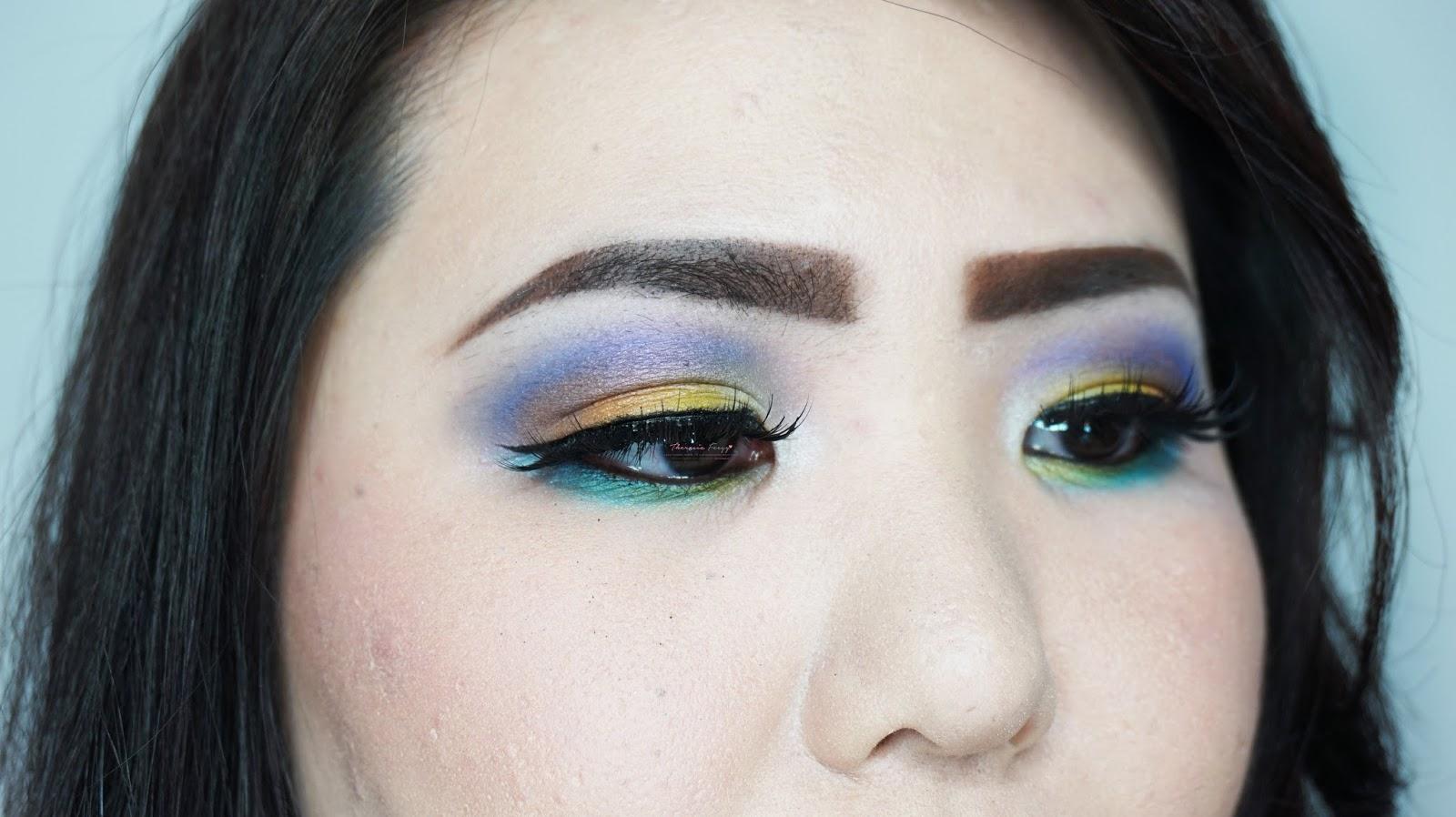Colorful summer eye makeup tutorial using coastal scents and sephora colorful summer eye makeup tutorial using coastal scents and sephora academy palette baditri Images