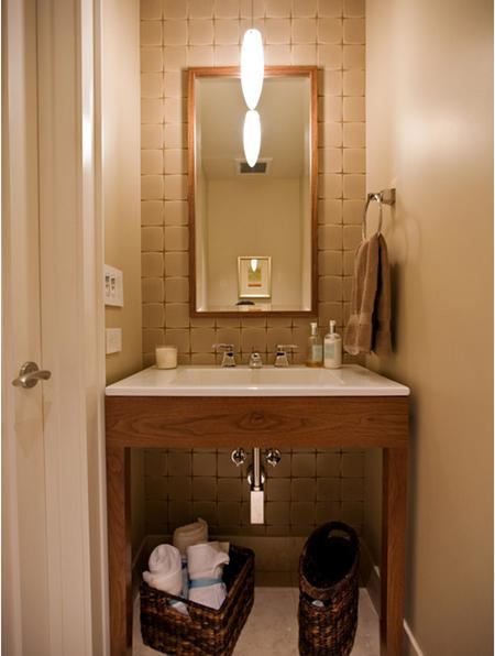 decoracao de apartamentos pequenos e charmosos : decoracao de apartamentos pequenos e charmosos: em Casa: Banheiros decorados, pequenos e charmosos para copiar em casa