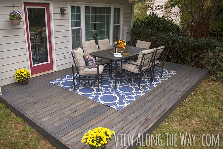 how to stain a wood deck diy craft projects