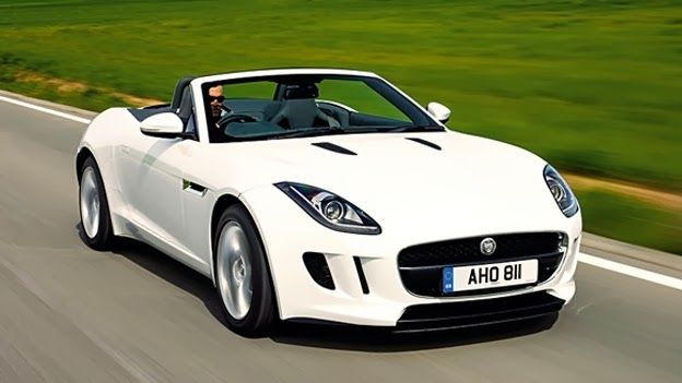 Jaguar F-Type The Best Looking Car for 2014