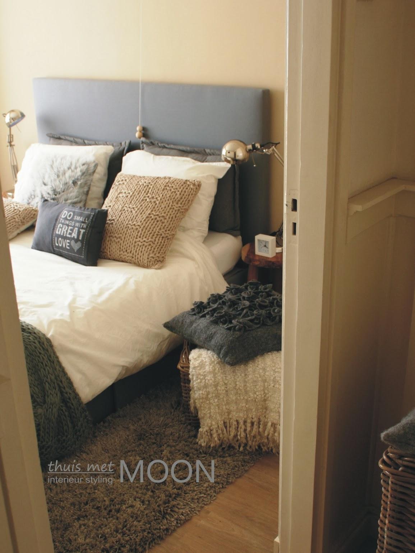 thuis met Moon: Stoere slaapkamer