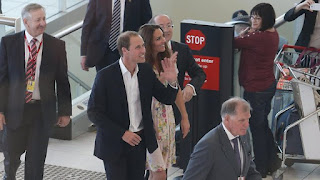 Prince William Wedding News: Prince William and Princess Catherine Stop Over in Brisbane