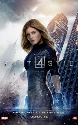 Fantastic Four Character Movie Poster Set - Kate Mara as Sue Storm / The Invisible Woman
