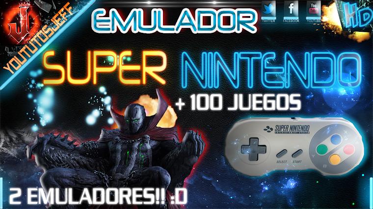EMULADOR DE SUPER NINTENDO + PACK DE JUEGOS | 2015