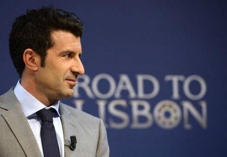Luis Figo Calon Presiden FIFA