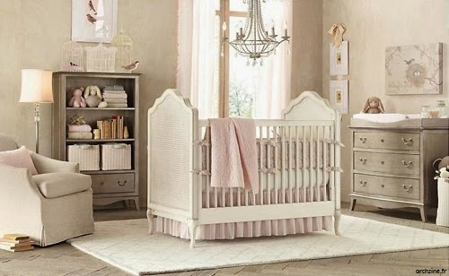 chambre b b fille rose et beige b b et d coration chambre b b sant b b beau b b. Black Bedroom Furniture Sets. Home Design Ideas