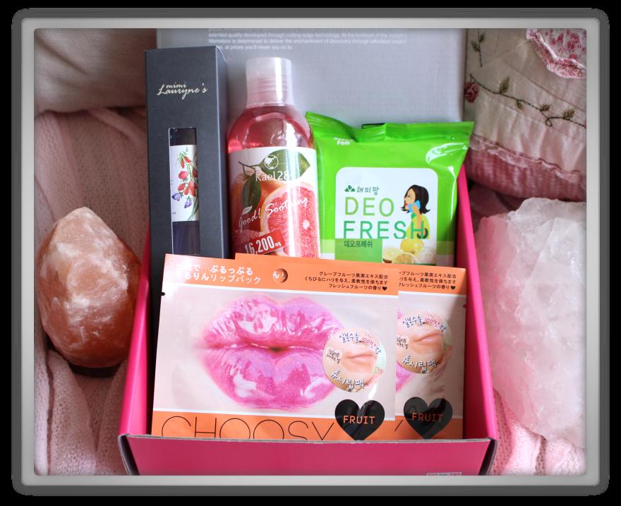 겟잇뷰티박스 by 미미박스 memebox beautybox scentbox 3 grapefruit unboxing review preview box look inside