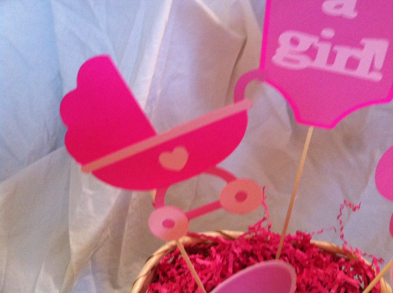 creations butterfly baby shower centerpiece
