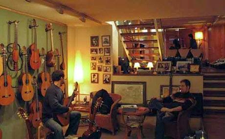 Cithara hispanica tres guitarras tres voces el efecto for Casa luthier barcelona