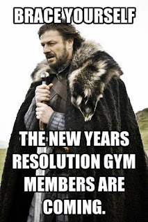 new years resolutions gym members are coming