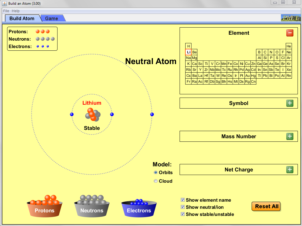 Visualizing Chemistry Summer 2012