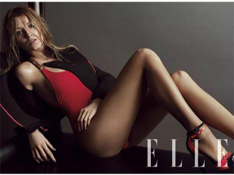 Blake Lively for ELLE Magazine US March 2012