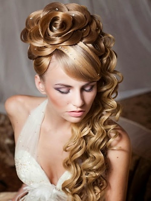 There Are Several Different Prom Hairstyles That Begin With A Simple Ponytail For Example You Can Put Your Hair Up In High And Pull