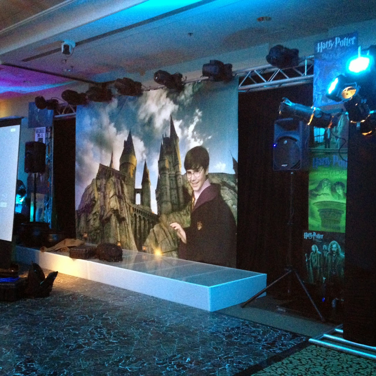 Harry Potter themed Bar Mitzvah banners   Banners.com