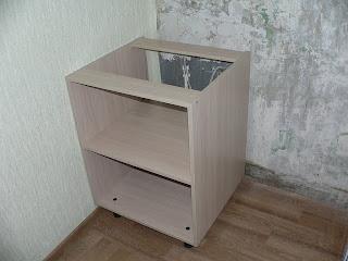 кухонный шкая под мойку без фасада