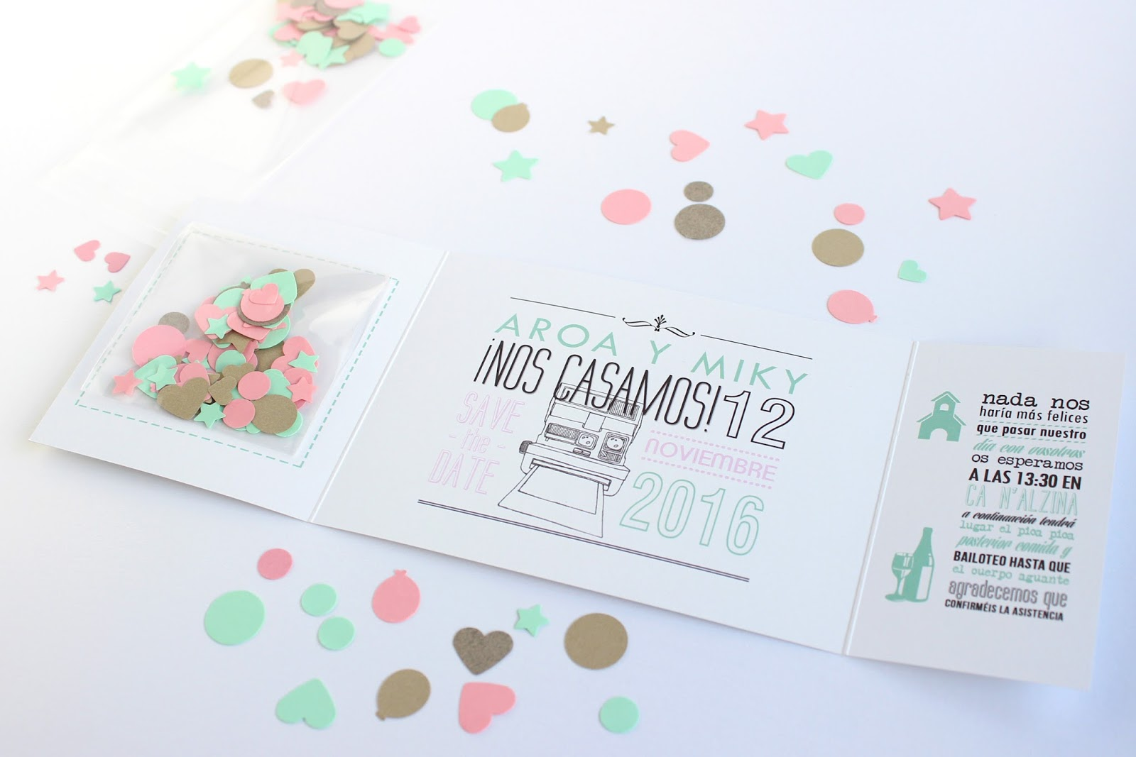 Hermanas bolena c mo hacer invitaciones de boda - Tarjetas de invitacion de boda originales ...