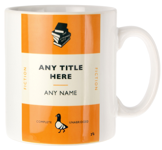 Personalised Book Cover Mug - 10 Alternative Gift Ideas for Book Lovers