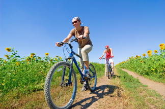 Turismo sostenibile bici - Fonte Commissione UE