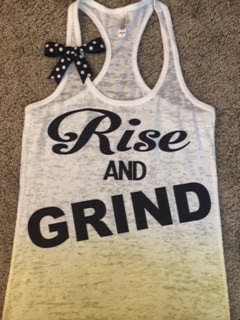 Ruffles With Love Rise and Grind Tank Top