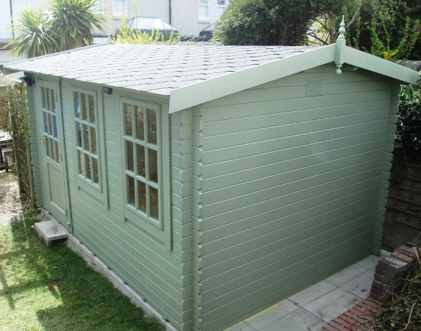 Garden Office Recently Completed