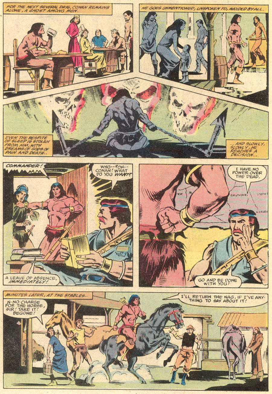Conan the Barbarian (1970) Issue #135 #147 - English 12