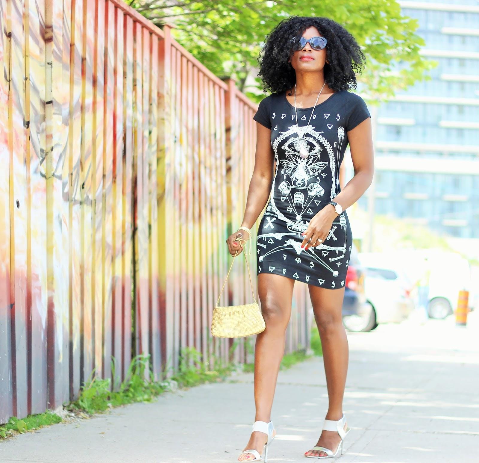 T-shirt dress by Jawbreaker Clothing