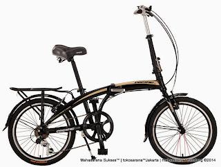Sepeda Lipat Pacific 20-2980-TX Rangka Aloi 20 Inci