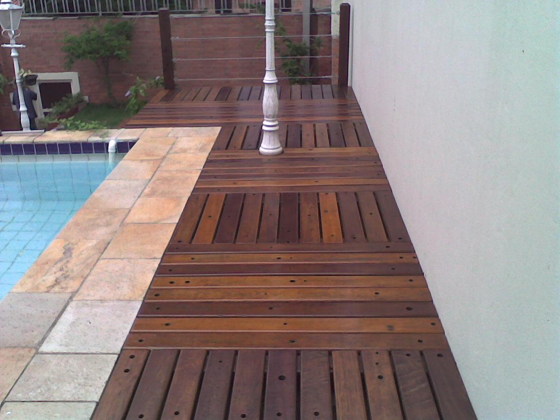 deck jardim sorocaba: em madeira (15) 32336176- 81561044 Sorocaba-SP: Deck feito em cruzeta