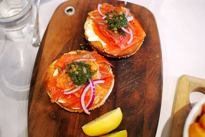 The Armchair Collective Sydney Food Blog Salmon Bagel