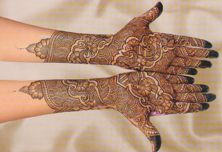 Henna Bridal Mehndi Designs for Hands