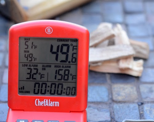 remote probe thermometer kamado grill, ceramic grill