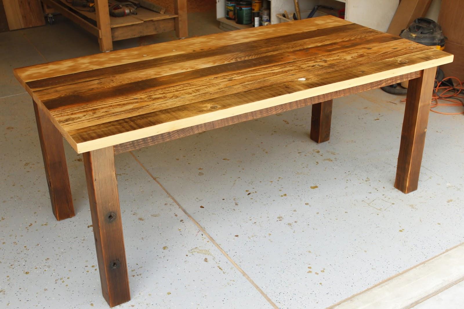 Arbor Exchange Reclaimed Wood Furniture Patchwork Of Reclaimed Douglas Fir
