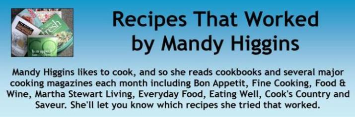 Recipes That Worked by Mandy Higgins